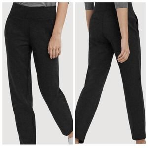 Kit & Ace Mulberry Charcoal Gray Stretchy Pants 6